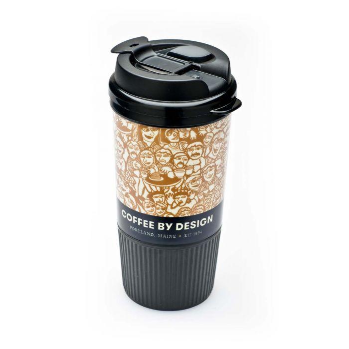 Cbd Hot Plastic Travel Mug Cedrone