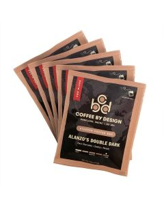 Alanzo's Double Dark Single Serve Steeped Coffee - 5 pack