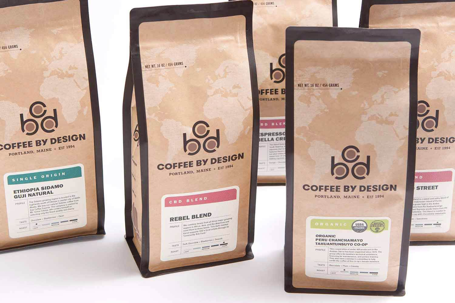 Coffee By Design Bags