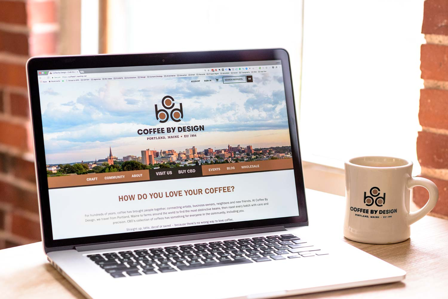 Coffee By Design Website